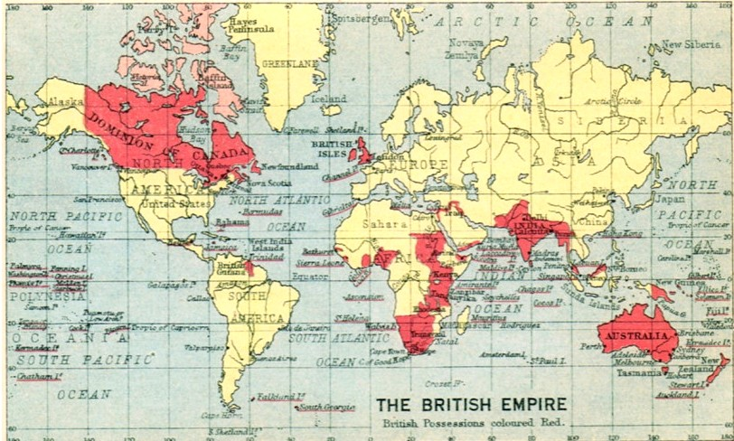 British empire 1922