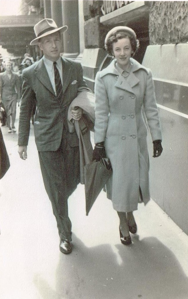 Stephen and Vera winter 1949 -